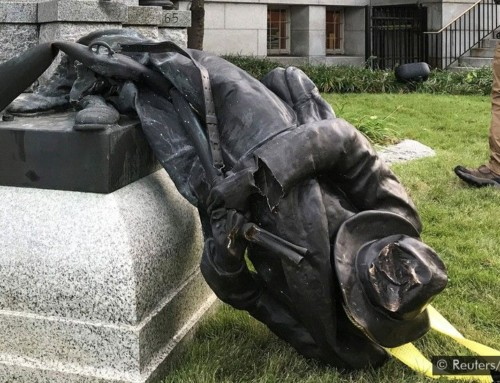 TOPIC: Tearing Down Statues to Make Totalitarian America